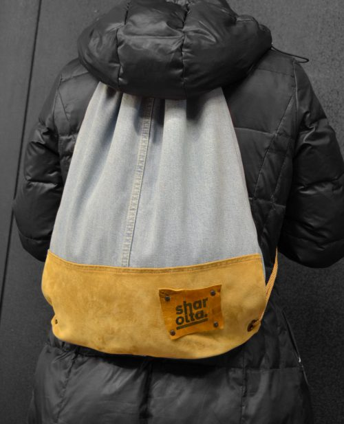 BackSack with Leather
